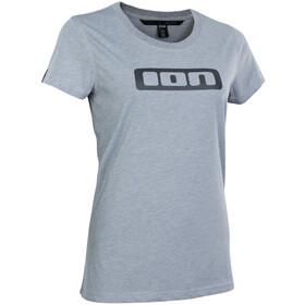 ION Seek DriRelease Koszulka z krótkim rękawem Kobiety, szary
